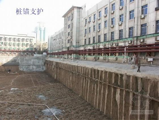 深基坑锚杆喷锚支护施工技术(土钉墙)