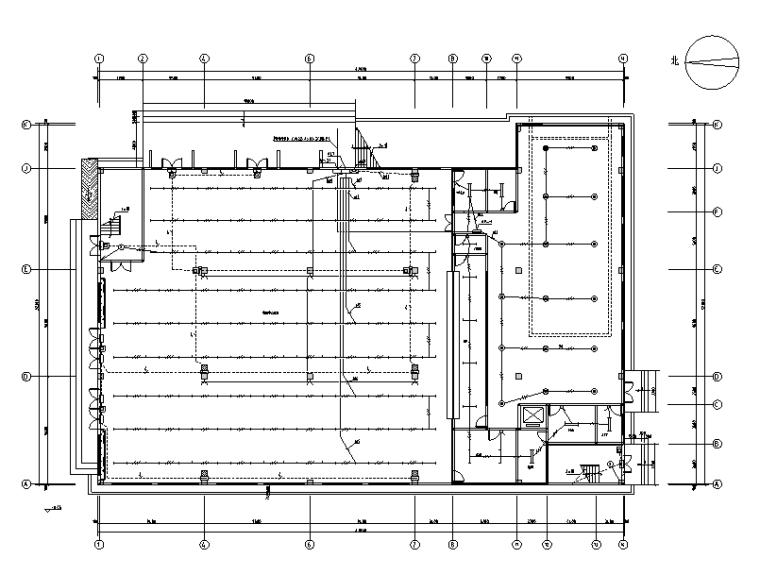 江西学校食堂电气施工图+图审回复(文末含综合楼全套)