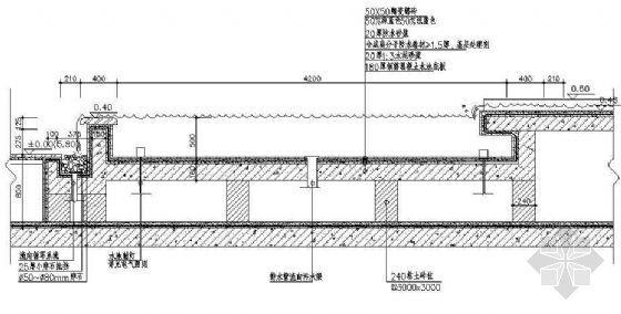 小庭园水景详图(4)