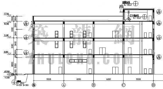 大连某购物广场建筑施工图-3