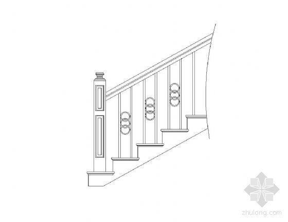 楼梯栏杆图块集