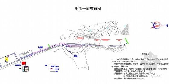 [浙江]高速公路改建工程临时用电施工方案