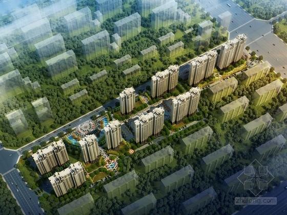 [河北]欧式风格住宅区规划及单体设计方案文本