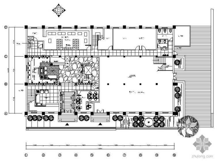 [无锡]某足浴SPA会所施工图