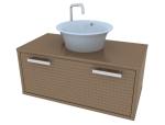 台上盆浴室柜的设计资料免费下载