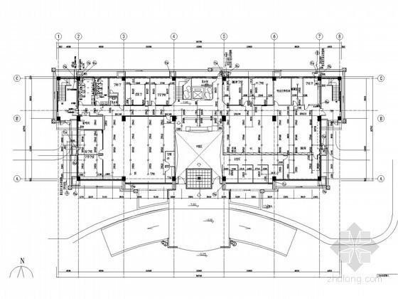 工业建筑消防及雨水系统施工图