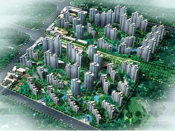 [湖北]现代风格住宅区规划设计方案文本(含CAD 总平设计优秀)