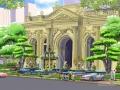 [广州]奢华型欧式皇家酒店景观规划设计方案(知名地产公司项目)