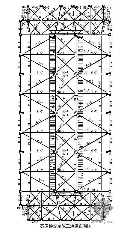 内蒙古某大型酒店钢结构安装施工方案(争创草原杯 鲁班奖)