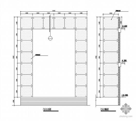 深圳某综合楼玻璃幕墙钢结构施工图