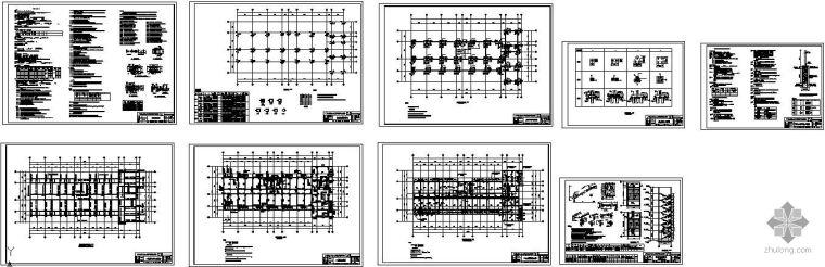 [学士]某高校宿舍楼毕业设计结构图