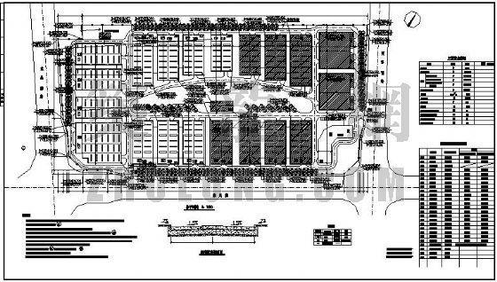 北京某投资有限公司标准厂房消防设计图