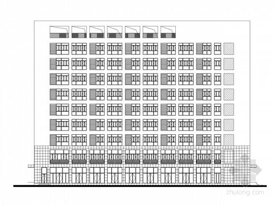 [武汉]9层办公综合楼建筑施工图