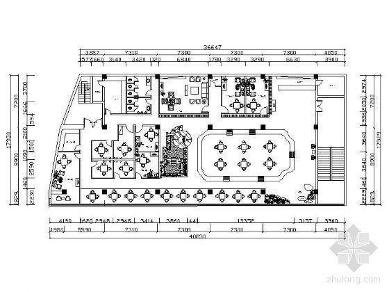 [毕业设计]山东茶楼设计图