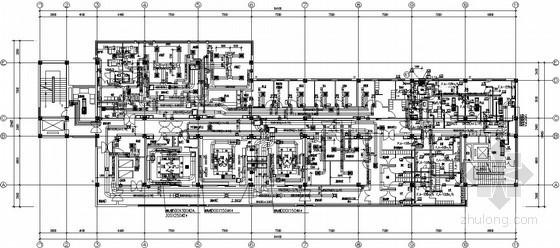 手术室净化空调系统设计图纸