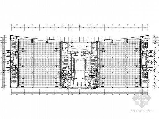 [山东]大型会展中心空调通风设计全套施工图(详图较多)