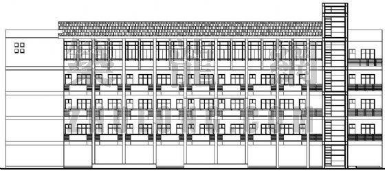 某辦公樓建筑設計方案