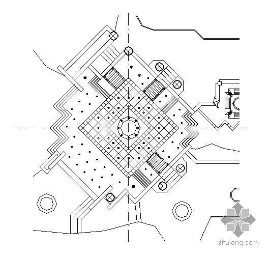 旱喷广场施工图全套