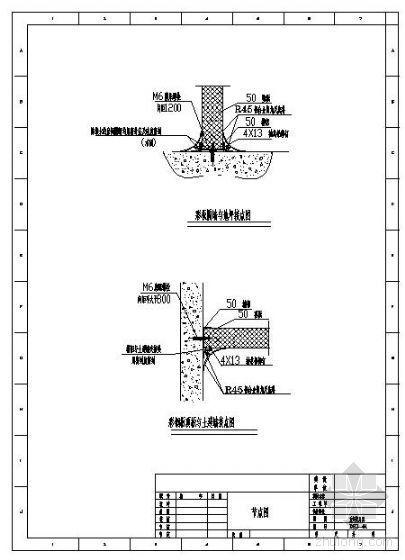 洁净空调彩钢板隔墙节点图