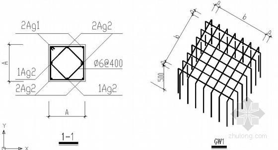 预制桩节点构造详图