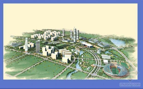 [宁波]某中心区概念性规划评价及核心区城市设计