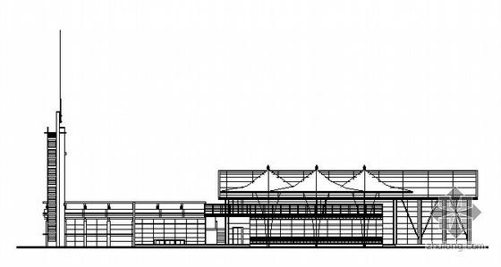 某二層會所建筑方案圖