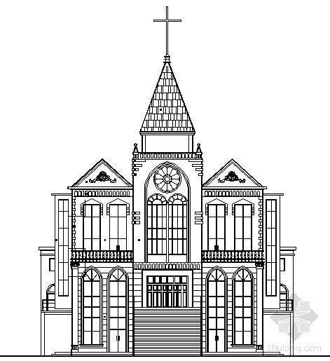 某四层基督教会建筑施工图