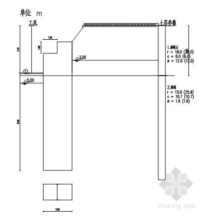 [福建]废酸水处理基坑支护施工方案(高压旋喷桩)