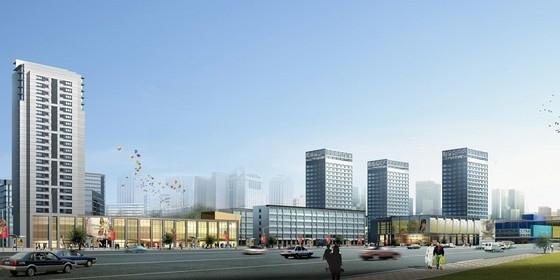 [山东]商业区规划及单体设计方案文本