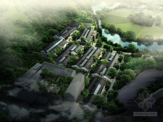 [杭州]中式风格商业区规划设计方案文本