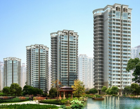 [北京]大型房地产开发投资估算实例及表格(成本与利润分析)