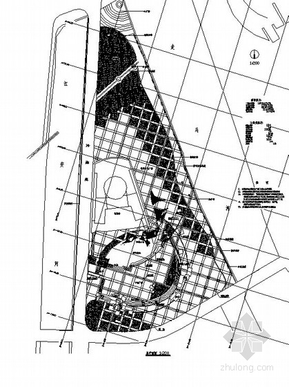 [都江堰]都市休闲广场园林景观工程施工图