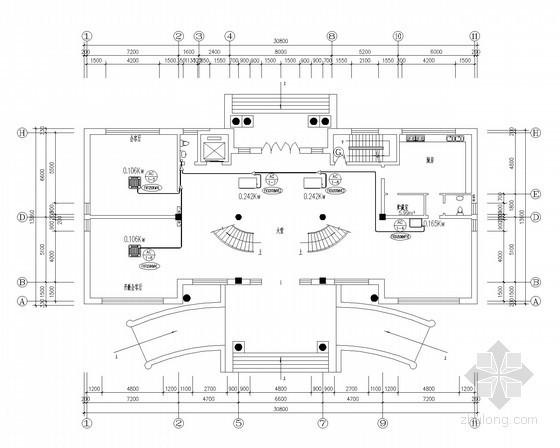 联体住宅别墅VRV多联中央空调系统设计施工图