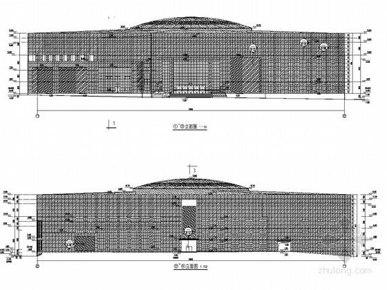 国家级工人文化宫幕墙施工图(含详细计算书)