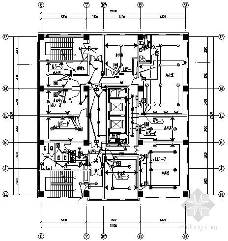 天津某办公楼改造工程电气施工图