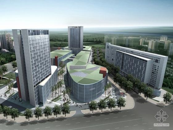 [东莞]某花园住宅小区规划与建筑设计方案(含设计说明及效果图)