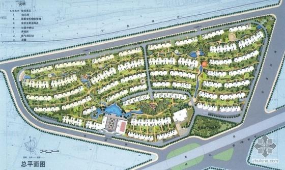南京小区规划设计图