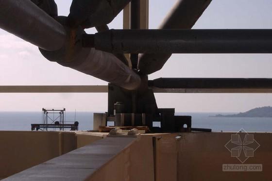 [广东]燃气蒸汽联合循环发电机组电厂主体工程施工组织设计(245页附工程照片)-网架节点大样