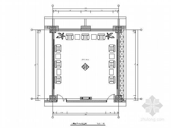 现代大贵宾室室内设计施工图
