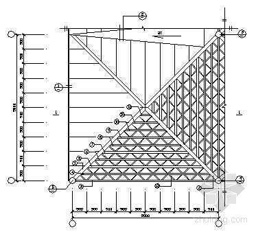 加油站网架结构施工图