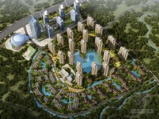 [山东]城市综合体规划方案文本(居住 商业)