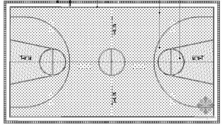 篮球场详细施工图