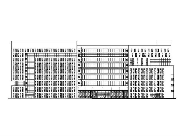 [深圳]丙类高层陶土板外墙标准生产厂房建筑施工图
