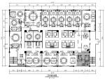 [南宁]传统中式风格餐厅室内设计施工图(含实景图)