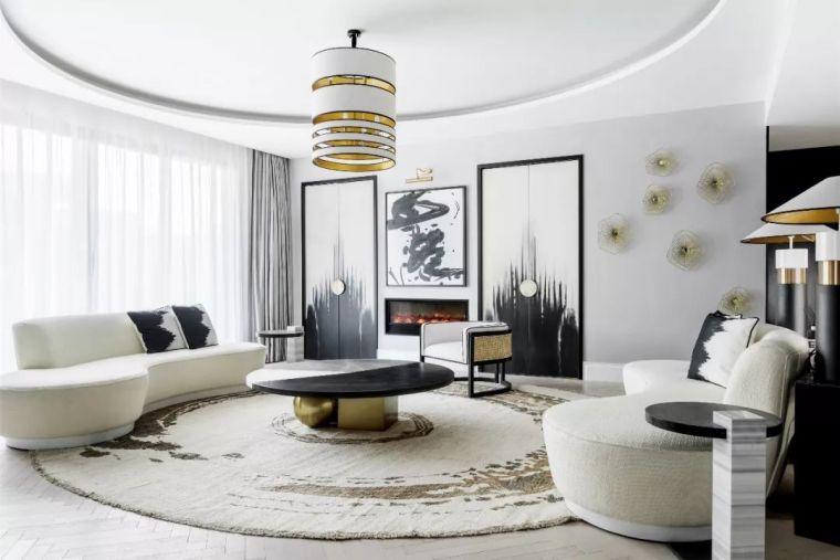 跃层都市公寓融入4种风格后,竟然如此惊艳!_13