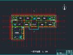 四层教学楼施工图(含水电暖结构)