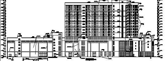 高层黄金海岸商住综合楼施工图