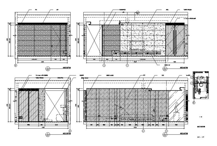 [广东]现代风格-别墅大宅设计施工图(附效果图)