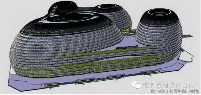 银河SOHO项目那些复杂幕墙是如何通过BIM技术解决的