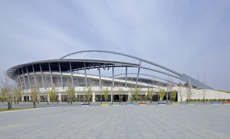 30000座省运会主体育场建筑结构全套图(含幕墙图纸)